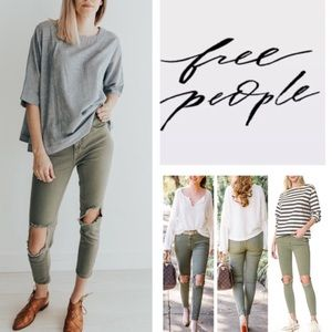 New Free People Skinny Jeans